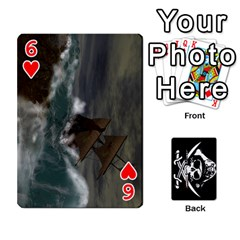 Card Deck By Adrian Wilkinson   Playing Cards 54 Designs   7xmj9avsn9id   Www Artscow Com Front - Heart6