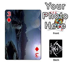 Card Deck By Adrian Wilkinson   Playing Cards 54 Designs   7xmj9avsn9id   Www Artscow Com Front - Diamond3
