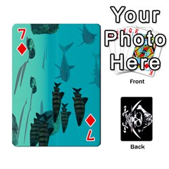 Card Deck By Adrian Wilkinson   Playing Cards 54 Designs   7xmj9avsn9id   Www Artscow Com Front - Diamond7