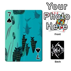Card Deck By Adrian Wilkinson   Playing Cards 54 Designs   7xmj9avsn9id   Www Artscow Com Front - Spade7