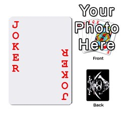 Card Deck By Adrian Wilkinson   Playing Cards 54 Designs   7xmj9avsn9id   Www Artscow Com Front - Joker2