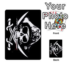 Card Deck By Adrian Wilkinson   Playing Cards 54 Designs   7xmj9avsn9id   Www Artscow Com Back