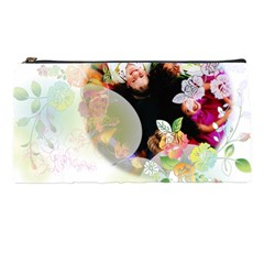 Flower  By Wood Johnson   Pencil Case   Wep001wtpn48   Www Artscow Com Front