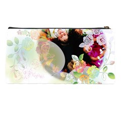 Flower  By Wood Johnson   Pencil Case   Wep001wtpn48   Www Artscow Com Back