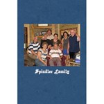 Spindler Family notebook - 5.5  x 8.5  Notebook