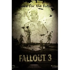 Notebook Fallout 3 By Sergio   5 5  X 8 5  Notebook   V1x56vfx2bg2   Www Artscow Com Back Cover