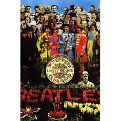 Beatles By Sergio   5 5  X 8 5  Notebook   Dlu22tg5r8t8   Www Artscow Com Front Cover