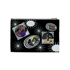 Cosmetic Bag By Mary Stewart   Cosmetic Bag (medium)   Uashgtd92pat   Www Artscow Com Back