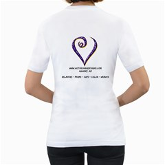 Teeshirtfrontandback By Victory Hair Designs Llc   Women s T Shirt (white) (two Sided)   Xnia38z3iv7j   Www Artscow Com Back