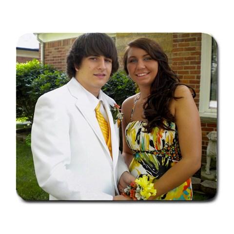 Prom! By Lauren Tilley   Large Mousepad   B34wvhkessjw   Www Artscow Com Front