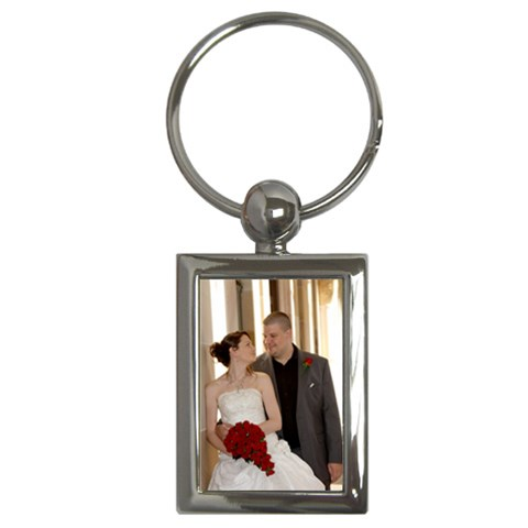 Wedding Key Chain By Jay Page   Key Chain (rectangle)   2d5y0aag13r7   Www Artscow Com Front