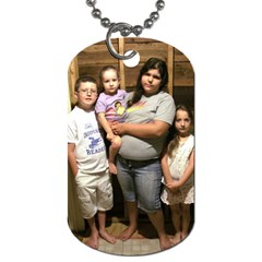 Family Dogtag By Dana Lewis   Dog Tag (two Sides)   Mv7hbwrhqwev   Www Artscow Com Front