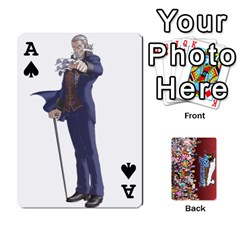 Ace Pwcards By Wes   Playing Cards 54 Designs   Fh6uhkjiy9tq   Www Artscow Com Front - SpadeA