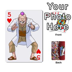 Pwcards By Wes   Playing Cards 54 Designs   Fh6uhkjiy9tq   Www Artscow Com Front - Heart5