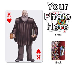 King Pwcards By Wes   Playing Cards 54 Designs   Fh6uhkjiy9tq   Www Artscow Com Front - HeartK