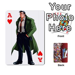 Ace Pwcards By Wes   Playing Cards 54 Designs   Fh6uhkjiy9tq   Www Artscow Com Front - HeartA