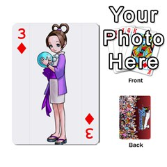 Pwcards By Wes   Playing Cards 54 Designs   Fh6uhkjiy9tq   Www Artscow Com Front - Diamond3
