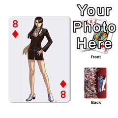 Pwcards By Wes   Playing Cards 54 Designs   Fh6uhkjiy9tq   Www Artscow Com Front - Diamond8