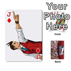 Jack Pwcards By Wes   Playing Cards 54 Designs   Fh6uhkjiy9tq   Www Artscow Com Front - DiamondJ