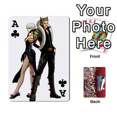 Ace Pwcards By Wes   Playing Cards 54 Designs   Fh6uhkjiy9tq   Www Artscow Com Front - ClubA