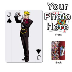 Jack Pwcards By Wes   Playing Cards 54 Designs   Fh6uhkjiy9tq   Www Artscow Com Front - SpadeJ
