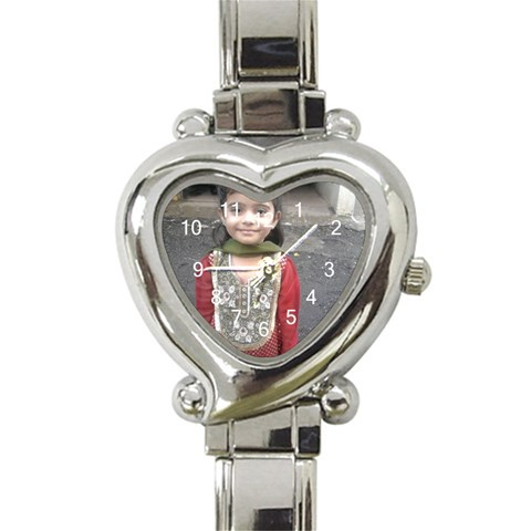Photo Watch By Shirin   Heart Italian Charm Watch   Lcu64h7oa6q9   Www Artscow Com Front