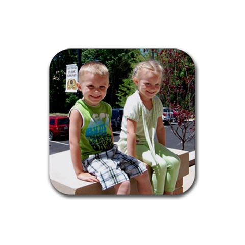 Kids Coaster 7 By Faith Hale   Rubber Coaster (square)   Th8tflercvrn   Www Artscow Com Front
