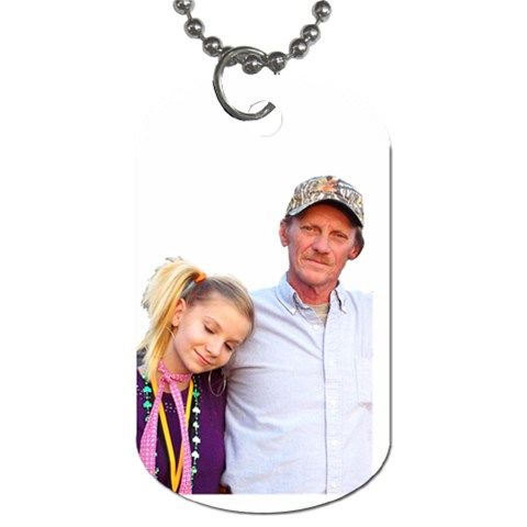 Ashley s Dogtag By Cheryl   Dog Tag (one Side)   Xu67r1g6svk4   Www Artscow Com Front