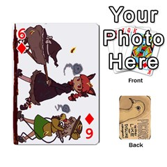 Randomcards By K Kaze   Playing Cards 54 Designs   Bynn6rsti2jj   Www Artscow Com Front - Diamond6