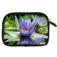 Flower Camera Case By Marina   Digital Camera Leather Case   Mwwnhpdxduzx   Www Artscow Com Back