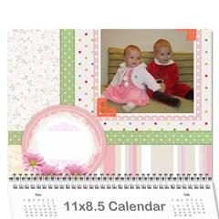 Kalendar By Magdalena Dobreva   Wall Calendar 11  X 8 5  (12 Months)   1ke3mebs543q   Www Artscow Com Cover