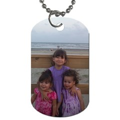 Dogtag With My Girls By Mylissa Pence   Dog Tag (two Sides)   9kfokj9dzhov   Www Artscow Com Front