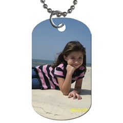 Dogtag With My Girls By Mylissa Pence   Dog Tag (two Sides)   9kfokj9dzhov   Www Artscow Com Back