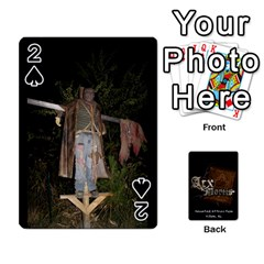 Playing Cards 2 Sides   Arx Mortis By Sheri   Playing Cards 54 Designs   Im757t2ei6pn   Www Artscow Com Front - Spade2