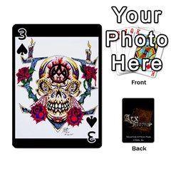 Playing Cards 2 Sides   Arx Mortis By Sheri   Playing Cards 54 Designs   Im757t2ei6pn   Www Artscow Com Front - Spade3