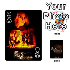 Queen Playing Cards 2 Sides   Arx Mortis By Sheri   Playing Cards 54 Designs   Im757t2ei6pn   Www Artscow Com Front - SpadeQ