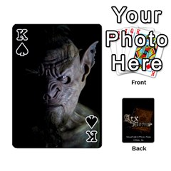 King Playing Cards 2 Sides   Arx Mortis By Sheri   Playing Cards 54 Designs   Im757t2ei6pn   Www Artscow Com Front - SpadeK