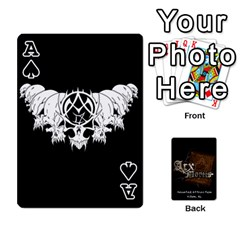 Ace Playing Cards 2 Sides   Arx Mortis By Sheri   Playing Cards 54 Designs   Im757t2ei6pn   Www Artscow Com Front - SpadeA