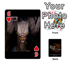 Playing Cards 2 Sides   Arx Mortis By Sheri   Playing Cards 54 Designs   Im757t2ei6pn   Www Artscow Com Front - Heart6