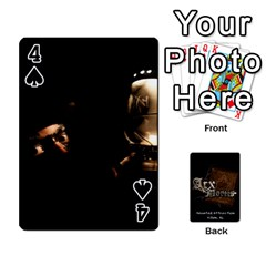 Playing Cards 2 Sides   Arx Mortis By Sheri   Playing Cards 54 Designs   Im757t2ei6pn   Www Artscow Com Front - Spade4