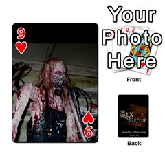 Playing Cards 2 Sides   Arx Mortis By Sheri   Playing Cards 54 Designs   Im757t2ei6pn   Www Artscow Com Front - Heart9