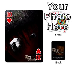 Playing Cards 2 Sides   Arx Mortis By Sheri   Playing Cards 54 Designs   Im757t2ei6pn   Www Artscow Com Front - Heart10