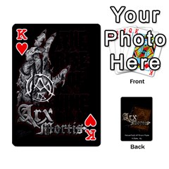 King Playing Cards 2 Sides   Arx Mortis By Sheri   Playing Cards 54 Designs   Im757t2ei6pn   Www Artscow Com Front - HeartK