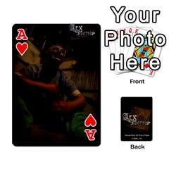Ace Playing Cards 2 Sides   Arx Mortis By Sheri   Playing Cards 54 Designs   Im757t2ei6pn   Www Artscow Com Front - HeartA