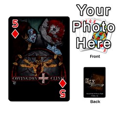 Playing Cards 2 Sides   Arx Mortis By Sheri   Playing Cards 54 Designs   Im757t2ei6pn   Www Artscow Com Front - Diamond5