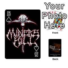 Playing Cards 2 Sides   Arx Mortis By Sheri   Playing Cards 54 Designs   Im757t2ei6pn   Www Artscow Com Front - Spade5