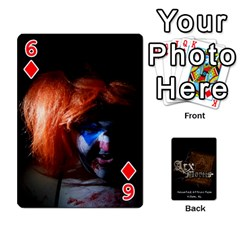 Playing Cards 2 Sides   Arx Mortis By Sheri   Playing Cards 54 Designs   Im757t2ei6pn   Www Artscow Com Front - Diamond6