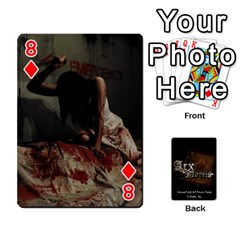 Playing Cards 2 Sides   Arx Mortis By Sheri   Playing Cards 54 Designs   Im757t2ei6pn   Www Artscow Com Front - Diamond8