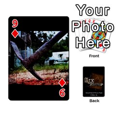 Playing Cards 2 Sides   Arx Mortis By Sheri   Playing Cards 54 Designs   Im757t2ei6pn   Www Artscow Com Front - Diamond9