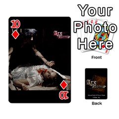 Playing Cards 2 Sides   Arx Mortis By Sheri   Playing Cards 54 Designs   Im757t2ei6pn   Www Artscow Com Front - Diamond10